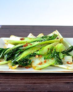 Ginger Bok Choy | Food Recipes