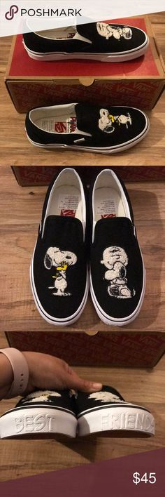 d491ca56a70fc NWT Peanuts x Vans Best Friends Slip-Ons Brand new never worn. Women's Slip