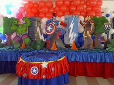Superheroe decoration