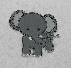 This is a MADE TO ORDER applique patch. Measures approx. Small: 3 3/4 in. x 3 3/4 in. Large: 4 3/4 in. x 4 3/4 in.  In the drop down box, choose