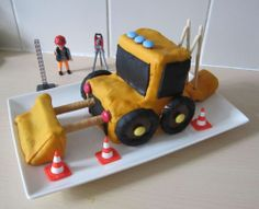 G teau camion de pompier pour l 39 anniversaire de mon petit for Decoration quatre quart