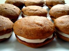 Pumpkin Whoopie Pies with a Kick