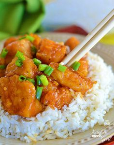 Firecracker Chicken - Kitchen Meets Girl