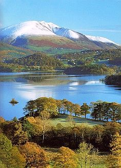 Derwentwater of Lake District National Park Borough of Allerdale Cumbria England Cumbria, British Countryside, Places Around The World, Belle Photo, Beautiful World, Beautiful Places In England, Beautiful Landscapes, Wonders Of The World, Nature Photography