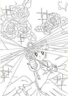 Eternal Sailor Moon Coloring Page // #sailormoon