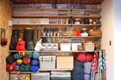 If you are planning to spend some time trekking and camping out in the wilderness, there will be some additional camping gear that you will need to take along Camping Storage, Bike Storage, Storage Room, Room Organization, Camping Equipment, Camping Gear, Living Place, Outside Living, Room Shelves