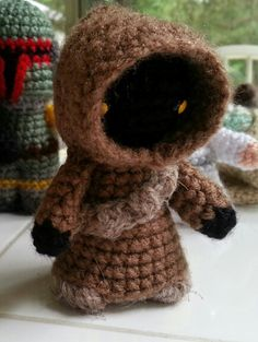 Jawa.    Star Wars Amigurumi crochet I made.