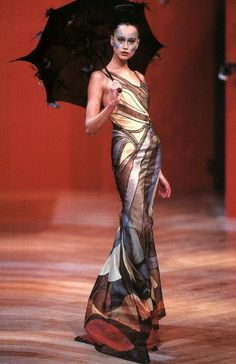 Alexander Mcqueen for Givenchy Haute Couture S/S 1999