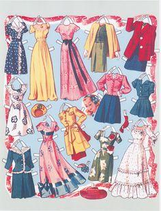 Paper Dolls~Sweet 16 Dolls - Bonnie Jones - Picasa Web Albums