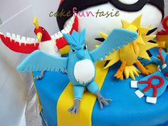 Cake Funtasie: Legendary Pokemon Cake