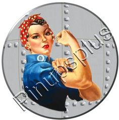 The classic and beautiful Rosie the Riveter
