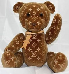 Luis Vuitton Teddy Bear Stuff Toy Display Collection Limited Edition / VALUE:US 30,000.00