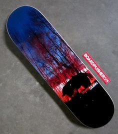 """""""UFO"""" by Erik Graham Photography is today's  Featured Deck. Check out more of Erik's photography skateboard graphics at www.BoardPusher.com/shop/stumptownskates."""