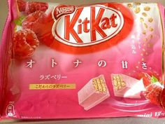 From Japan,Kitkat Raspberry,12pcs×6 Bags #nestle