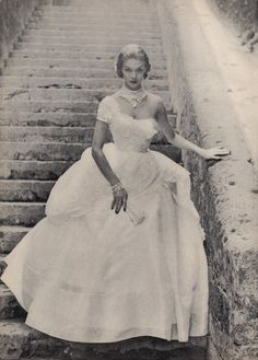 Ceil Chapman 1951 Schreiner, Evening Gown