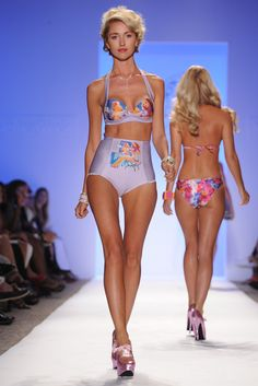 View all the catwalk photos of the Lisa Blue spring / summer 2013 showing at Miami swim fashion week. Blue Springs, Catwalk, Bikinis, Swimwear, Lisa, Spring Summer, Swimming, Style, Fashion