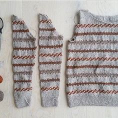 What a great shot of @bergljotops's #AshlandPullover in progress! Her color choices (Woodsmoke, Embers, and Nest) give this sweater a wonderful woodsy feel, don't you think?  #BTintheWild