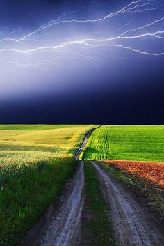 Horizontal Lightning