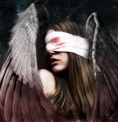 blind angel tattoo   via bonnie mosley