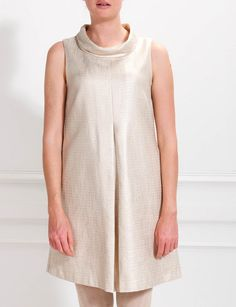 Fashionable metallic look dress - Dresses - Winter - Ladies - River Woods