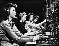 Switchboard Operators! I AM DOING THIS NOW ONLY WITH A PHONE AND MY HEADSET.