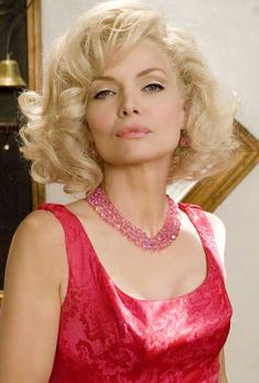 Michelle Pfeiffer in Hairspray (iffy movie, but Ms Pfeiffer looked as awesome as always).