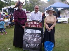 """Sharing this photo from Shad Qadri - """"@GoulbournMuseum thk u for participating in the #parkparty @Stittsville_Ont free fathers day event 2morrow at museum"""" - June 14, 2014"""