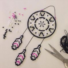 Dreamcatcher hama beads by joohannafors