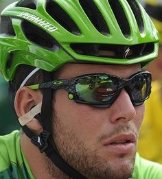 2011 Tour de France stage Cav looking good in green Sports Sunglasses, Oakley Sunglasses, Mark Cavendish, Stage, Manx, Pro Cycling, Bicycling, Biking, Athletes