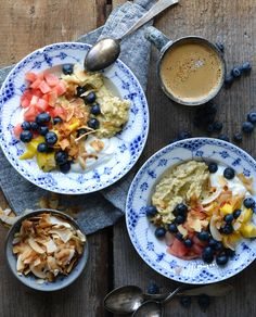Protein Packed Porridge with Tropical Topping