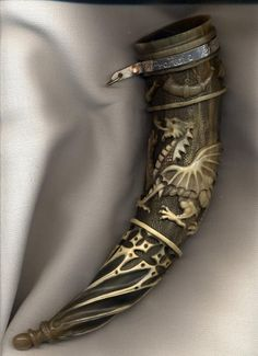 A well done drinking horn can add so much to the right sort of costume...