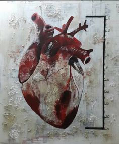 "Saatchi Art Artist Ulku Yilmaz; Painting, ""Measuring Love"" #art"
