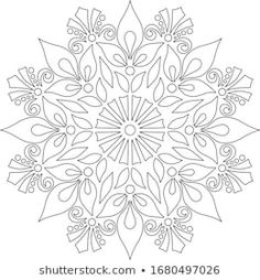 Doodle Coloring, Mandala Coloring, Coloring Pages, Floral Patterns, Print Patterns, Quilting Designs, Embroidery Designs, Color Me Badd, Glass Painting Patterns