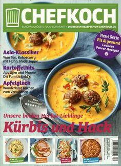 #Kürbis & #Hack: unsere beiden #Herbst-Lieblinge 🍲  Jetzt in Chefkoch, Ausgabe 10/2016.