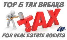 tax breaks for real estate agents