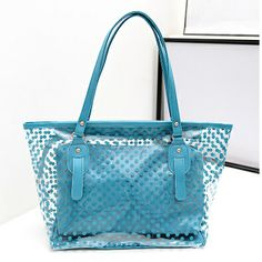 Candy Color Polka Dots Jelly Bag Shoulder Bag