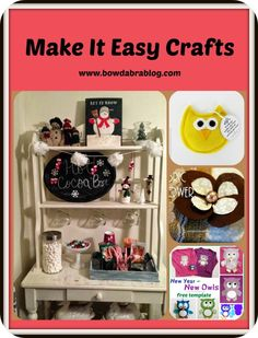 Make It Easy Crafts – Feature Friday