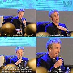 Peter Capaldi regeneration joke