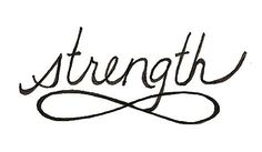 strength tatoo | Inifinite Strength Tattoo by ginabeauvais on Etsy