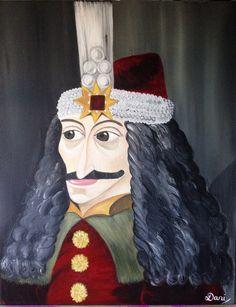 Vlad the Impaler by DaniMaxiFineArt on Etsy