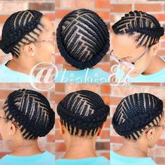 different braid styles black wedding, hairstyles for bridesmaids, black wedding hairstyles & easy hairstyles for black women. updos on medium-length to long hair, simple transitioning hairstyles neat Braided Cornrow Hairstyles, Short Box Braids Hairstyles, Black Wedding Hairstyles, Braided Hairstyles For Black Women, African Braids Hairstyles, Cornrows, Easy Hairstyles, Natural Hair Salons, Natural Hair Braids