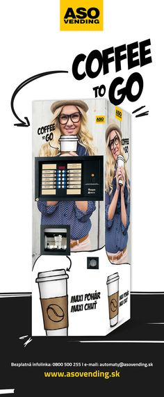 som fresh&new design for coffee vending machines