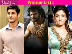 Filmfare Awards South 2016 winners list: Baahubali Mahesh Babu and Nayanthara win big at the award ceremony  see the full list!