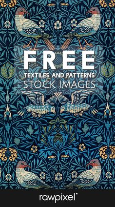 Arts and crafts Furniture William Morris - October Arts and crafts For Kids - - - Arts and crafts Furniture Desk Arts And Crafts For Teens, Easy Arts And Crafts, Motif Vintage, Vintage Patterns, Vintage Wallpaper Patterns, Vintage Art, Free Poster, Fun Craft, Free Printable Art