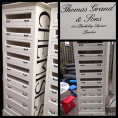 Chemises-Thomas Grand & Sons cabinet Home Office, Lockers, Locker Storage, Sons, Cabinet, Furniture, Home Decor, Chemises, Clothes Stand