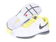 Nike Zoom Vapor 9 Tour White/Electric Yellow/Cool Grey - 6pm.com