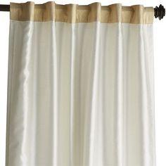 """Hamilton Curtain - Gilded Ivory 96"""" Pier One"""