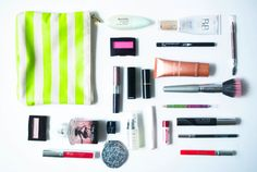 Dans la trousse de Dentelle + Fleurs - Makeup in my everyday case #BB