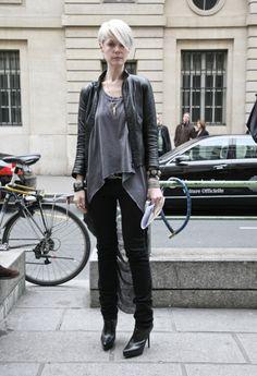 Kate Lanphear in Helmut Lang, Paris