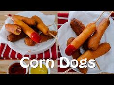Receita de Cachorro quente no palito (Corn Dogs) - Receitas e Temperos